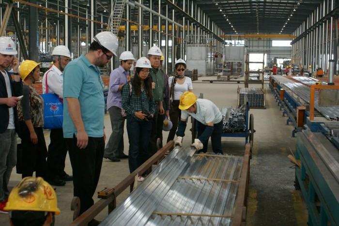 Посещение китайской фабрики