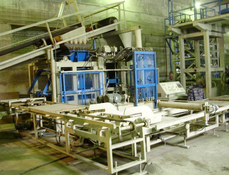 Оборудование для производства тротуарной плитки. г. Барнаул