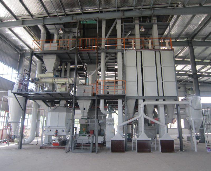 Завод по производству комбикорма, 2013 г.