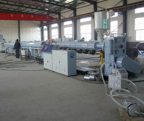 Экструзионная линия для производства изделий из полиэтилена, 2010 г.