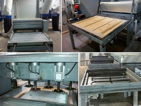 Оборудование для ремонта поддонов для вибропрессования