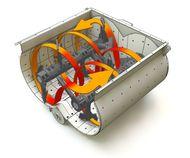 Двухвальный бетоносмеситель Sicoma