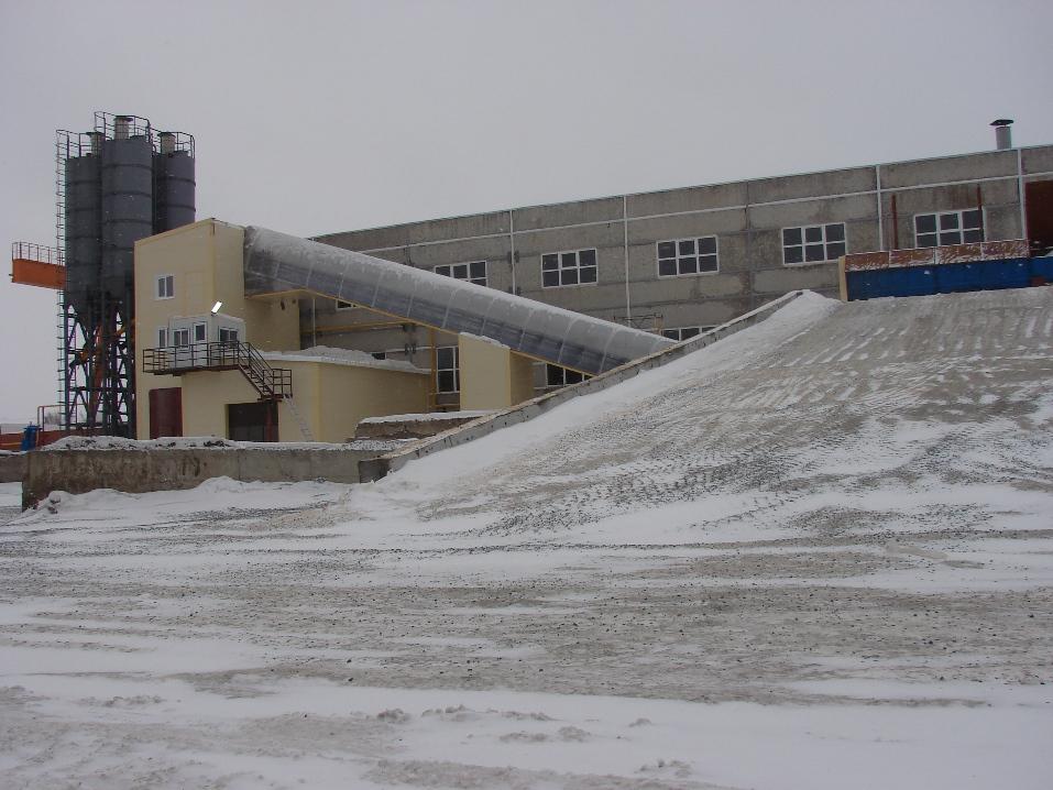 бетонный завод Новосибирск