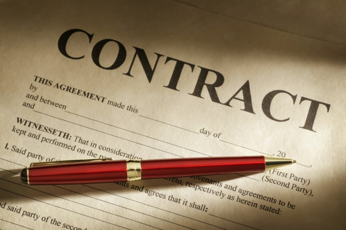 контракт на поставку оборудования